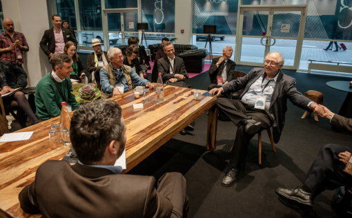 Investor Yossi Vardi shared his business insight at the Frankfurt Book Fair