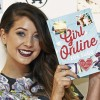 Zoe Sugg poses with Girl Online, which she didn't write...