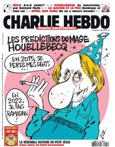 Charlie Hebdo's cover the week of the killings.