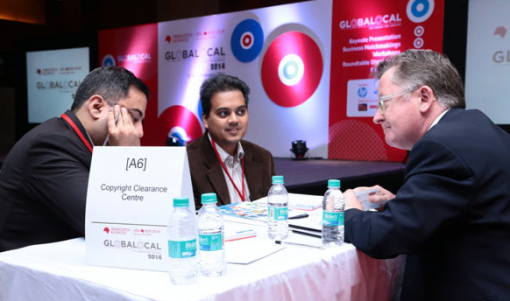 A matchmaking session from GLOBALOCAL 2014