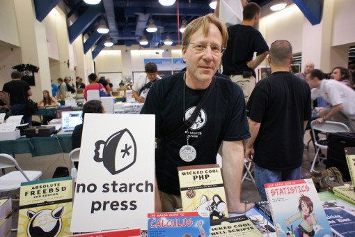 Bill Pollock of No Starch Press (Photo: Scott Beale / Laughing Squid)