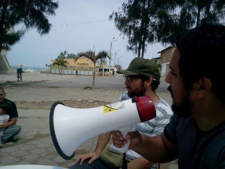 Colmena's David Perez and Armando Alzamora