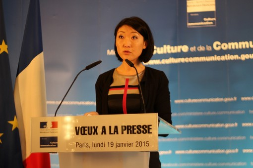 Fleur Pellerin, French Minister of Culture and Communication (Photo: ActuaLitté)