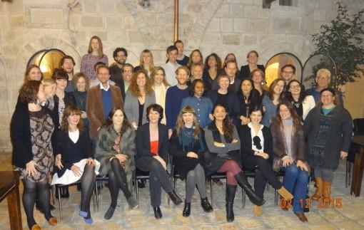 Group Photo of the Zev Birger Jerusalem Fellows.