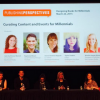 """The """"Curating Content and Events"""" panel at Publishing Perspectives' """"Designing Books for Millennial Readers"""" conference last Thursday."""