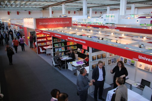 Livres Canada Books hosts stands at major book fairs around the world.
