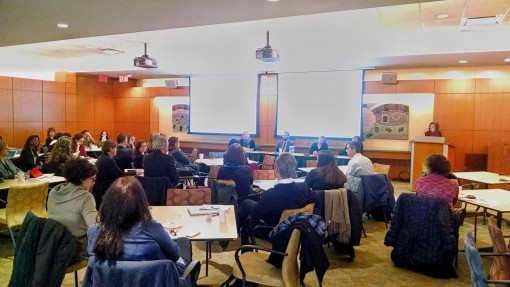 On Friday, rights professionals gathering at the Penguin Random House Building in New York to discuss trends and issues in the global rights business