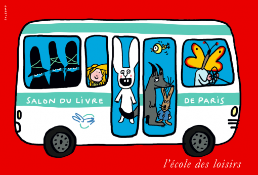 Salon du LIvre Bus