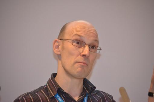Steve Bohme, midflow...