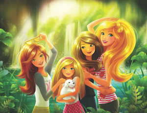 Mattel-barbie-illustration