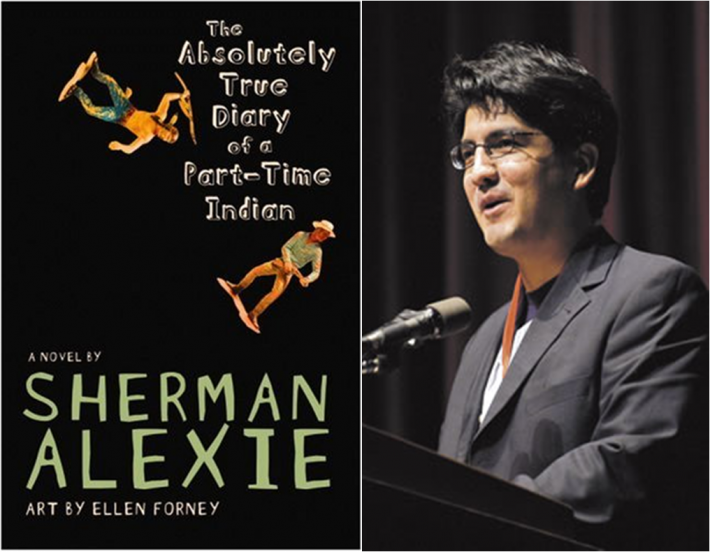 Alexie's novel leads the ABA's list of banned books.