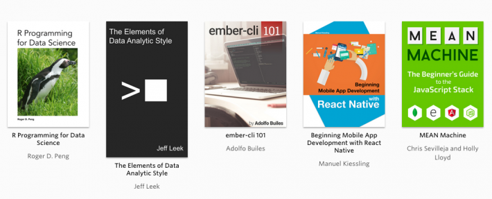 A Sampling of Leanpub's Bestsellers