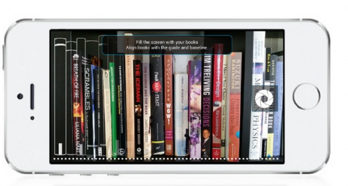 Image of a photo shot with the BitLit app, which you send to the company to see which titles are available for free or discounted ebook bundles.