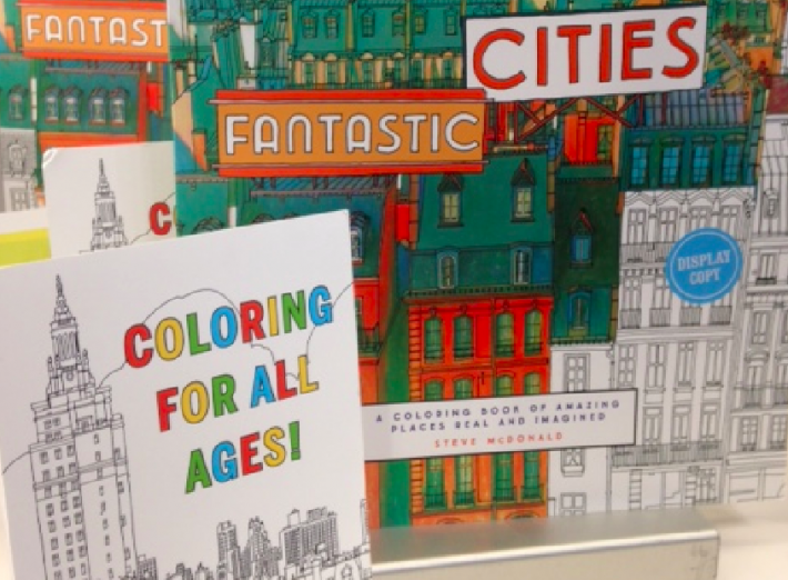 "Chronicle Books promises its new ""Cities"" coloring book is ""going to be huge."""