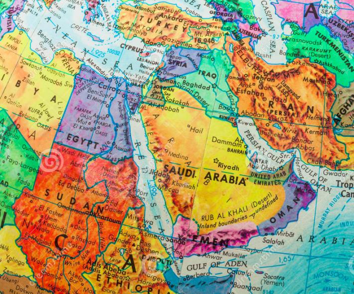 MENA Globe