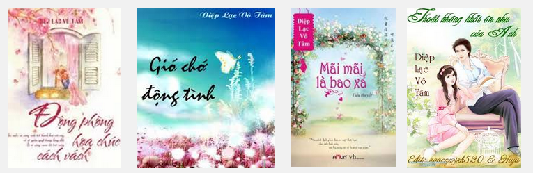 Selection of titles by Diệp Lạc Vô Tâm