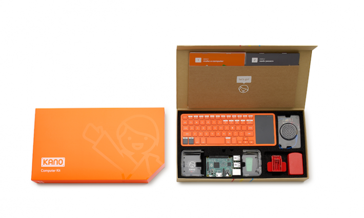 Kano Offers a bulid your own computer kit.