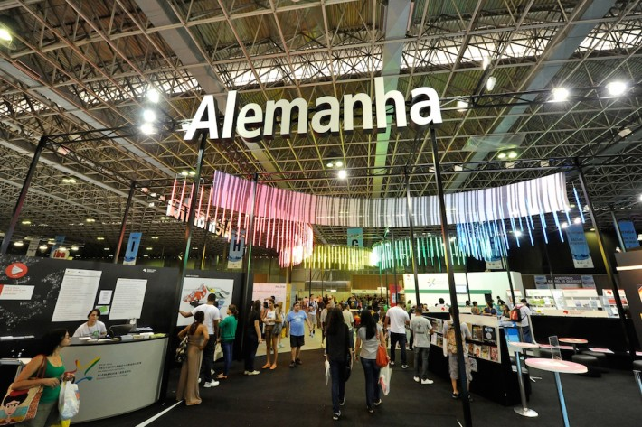 German stand at the Bienal do Livro in Rio de Janeiro, 2013 (Photo: Frankfurter Buchmesse)