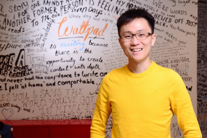 "Allen Lau says Wattpad can reach a billion users ""with relative ease."""