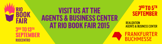 The Agents and Business Center at the Rio Book Fair 2015 was new and improved. http://www.bienaldolivro.com.br/canal/?exhibitors/19193/agents-&-business-center/