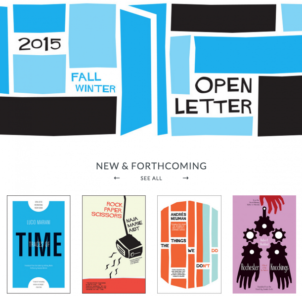 Open Letter Books 2015