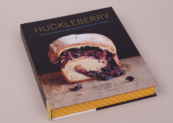 The Huckleberry Cookbook has some beautiful design features.