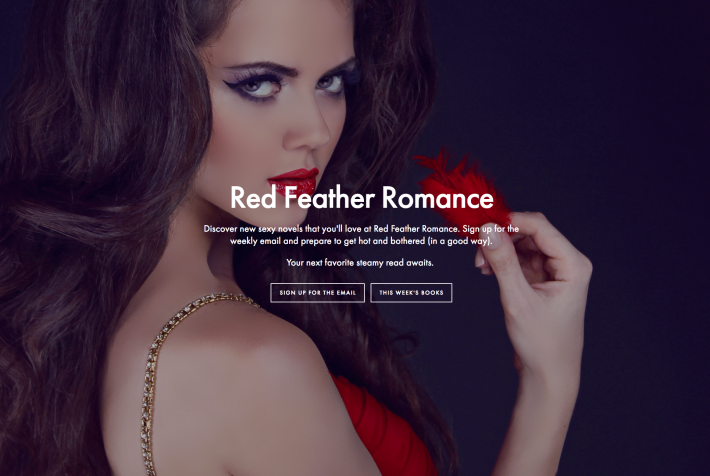 Written Word Media operates Red Feather Romance, among other email book marketing verticals.