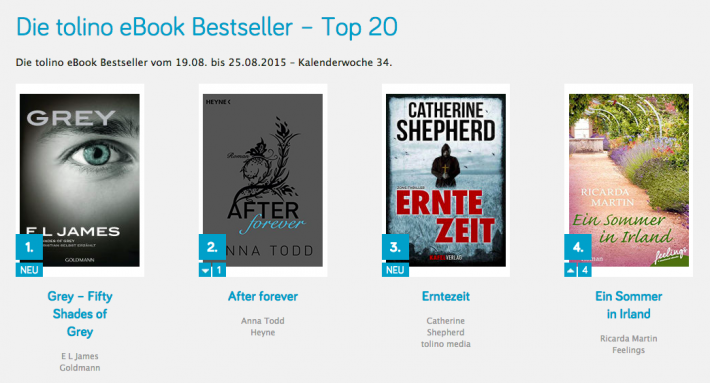 tolino launches ebook bestseller list