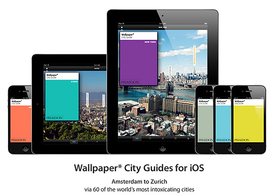 Phaidon has had particular success with their series of Wallpaper City Guides Apps.