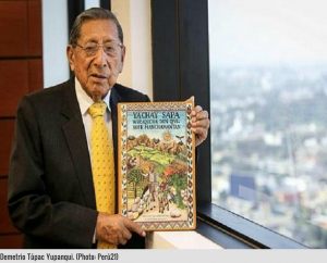It took Demetrio Tupac Ypanqui a decade to translate Don Quixote into Quechua.