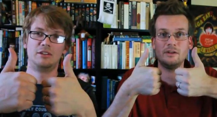Hank and John Green