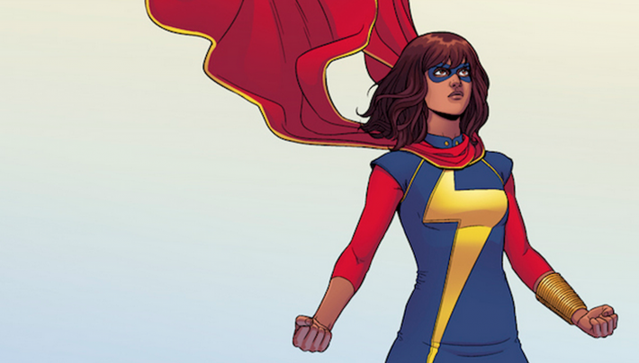 Ms. Marvel, by G. Willow Wilson, which features a female Muslim superhero, has been a big hit for Marvel Comics.