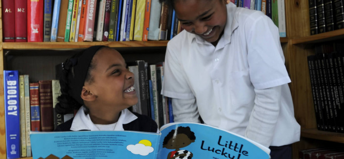 South African Children Reading