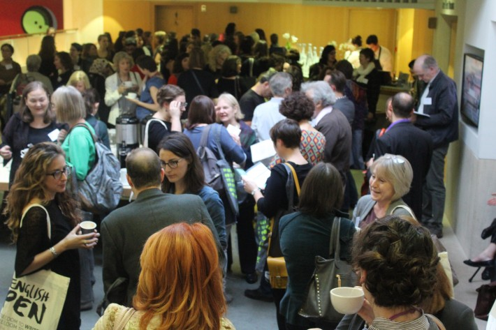 Crowds thronged International Translation Day in London last week.
