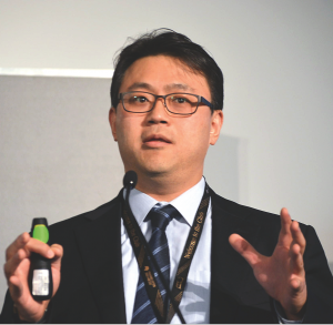 Robert Kim, CEO of iPortfolio, spoke at The Markets Global Publishing Summit