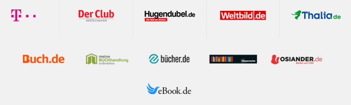 The Tolino bookselling alliance in Germany now encompasses 1,800 bookstores.