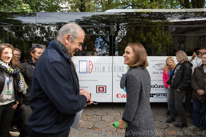 Inauguration of the Cinebus project with Special Guest Natalie Portman (Photo: Joanna Pieczara)