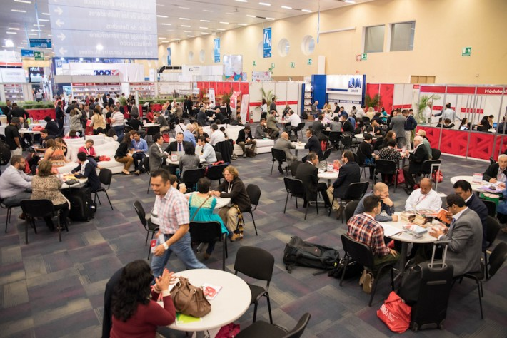 Rights Center at the 2015 Guadalajara Book Fair (Photo© Courtesy FIL Guadalajara / Melinda Llamas)