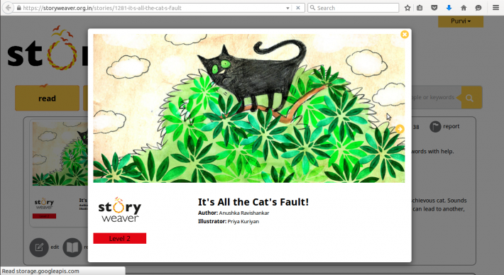 It's All the Cat's Fault Screenshot
