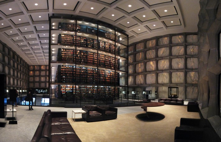 Yale's Beinicke Rare Book Library