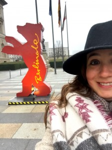 Nazlı Gürkaş has a few tips for newcomers at the Berlinale Film Festival