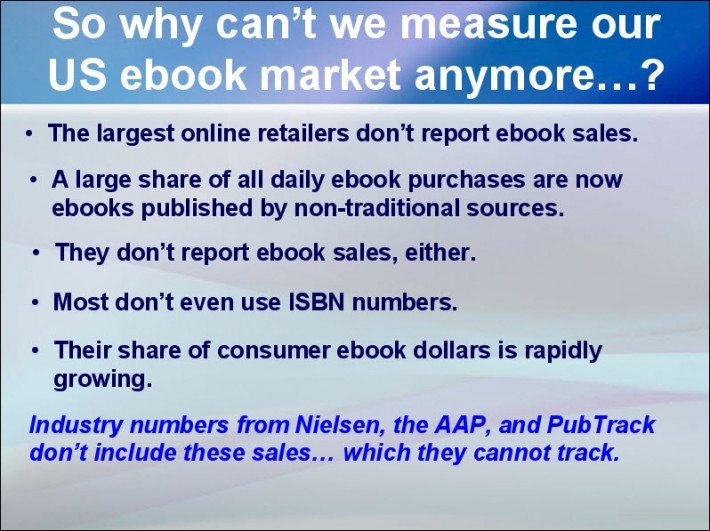 From Data Guy's Author Earnings keynote at Digital Book World 2016