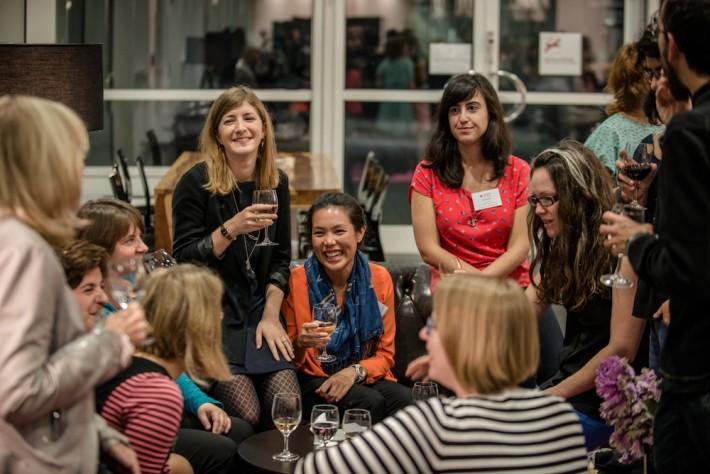 Frankfurt Book Fair Fellows reception in the Business Club (Image: © Frankfurter Buchmesse / Bernd Hartung)