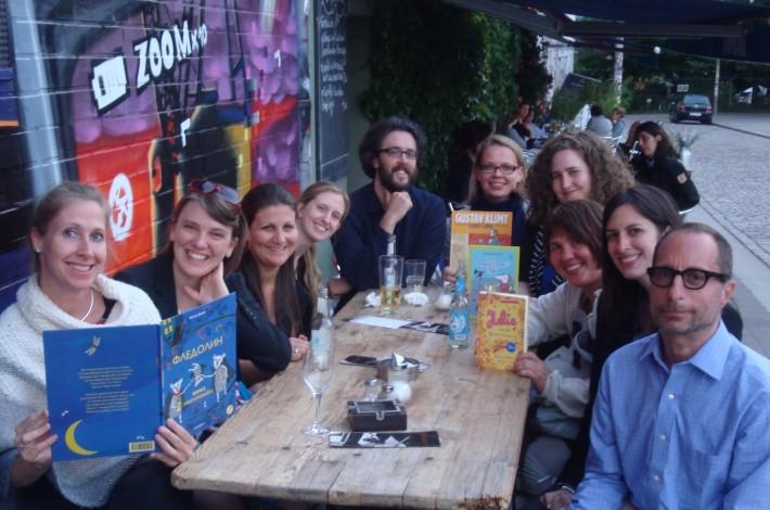 German Book Office children's book editor's trip, 2012