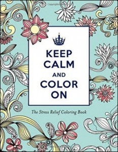 "Sourcebooks' Put Me in the Story coloring book ""Keep Calm and Color On"" features the work of illustrator Katie Martin."