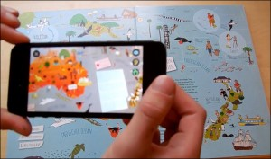 From the LeYo! video -- bringing a map to life.