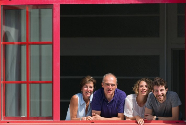 The co-founding Short Édition leadership is, from left, Isabelle Pleplé; Christophe Sibieude; Sylvia Tempesta; and Quentin Pleplé.
