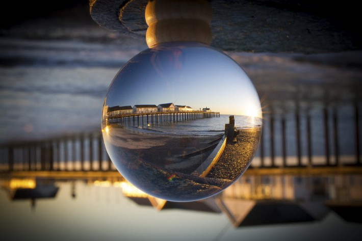Southwold Pier, Suffolk. Image - iStockphoto: MadOnLights