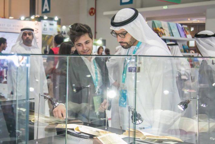 At Abu Dhabi International Book Fair this week. Media image