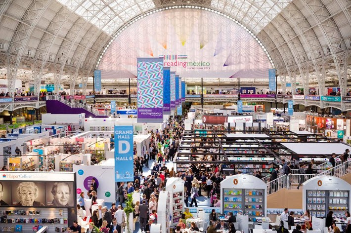 London Book Fair opens Tuesday at Olympia London's Grand Hall, having returned there from Earls Court last year.